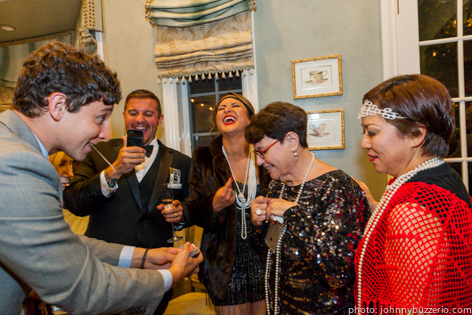 magician london cocktail party